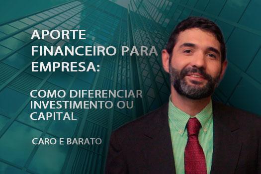 Aporte financeiro para empresa. Como diferenciar investimento ou capital caro e barato | Hernandez Perez advocacia empresarial